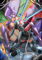 kha zix vs mecha ka zix by TorahimeMax