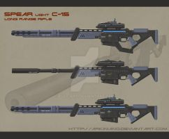 Ghost Rifle by Arkiniano