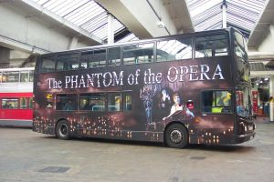 Phantom of the Opera bus by Silverfoxwolf