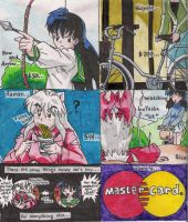 inuyasha master card by animelover4400