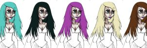 Choose Your Own Hair Color by PersephoneStock