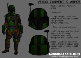 MandalMotors Armor File: Verdo Canveri by Vhetin1138
