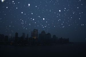 Snowing on NYC by Fan-of-all-7