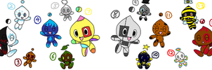 Psst, More Chao Adopts~ :D OPEN~ by LillyTheSeedrian