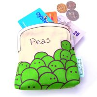 Pea Coin Purse by Eskimimi