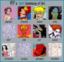 2012 Summary of Art by rocketdave