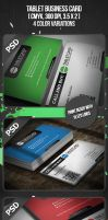 Tablet Business Card by VadimSoloviev