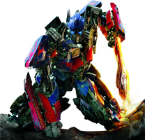 Optimus Prime Render 1822x1755 by sachso74