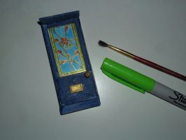 mini stainedglass door by kayanah