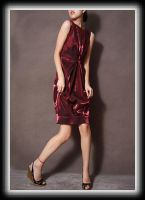 Red Tulip Cocktail Dress 4 by yystudio