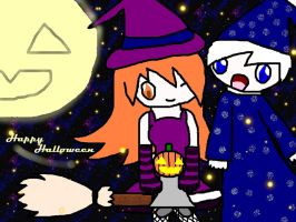 Pumpkin And The Wizard by perdanizeraving21st