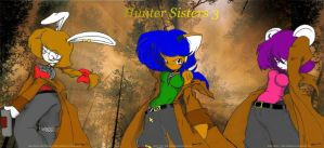 Hunter Sisters 3 :colored: by ZamieCat