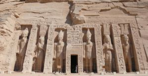 The Temple Of Hathor And Nefer by Tasky