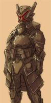 Knight Concept art by Vargr-comic