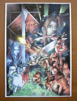 poster Final Fantasy 7 by forgeress