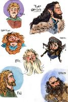 Some Dwarves by aberry89