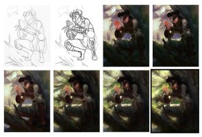Mantid Scout Process Shots by ImSkeptical