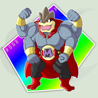 #068 (Mega) Machamp by RaiZhuW-The-Real