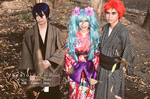 Vocaloid in the Woods by macmurdock