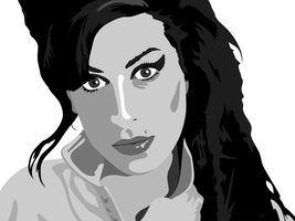 Amy Winehouse by Wearwolfclothing
