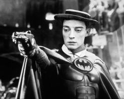 The Best Batman, Buster Keaton by mapacheanepicstory