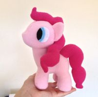 Filly Pinkie Pie Plushie by Blue-Shift-Recall