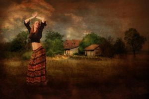 Gipsy dance by Louisolah