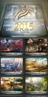 Scifi And Fantasy Calendar 2015 by tigaer