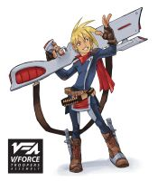V Force Troopers Assembly Alex Character design by kofab