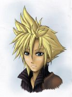 Cloud... SMILE by raikoufighter
