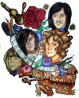 Led Zeppelin Art : 'Kashmir' by la-morte-amoreuse