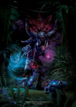 Witch Doctor - Diablo 3 by Hiluvia