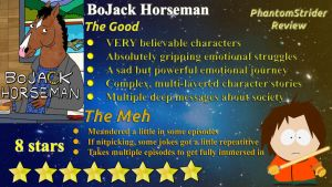 PhantomStrider BoJack Horseman Review by Phantomstrider