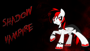 (OC) Shadow Vampire Wallpaper without glow by CKittyKat98