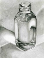 Glass Bottle by noctorro