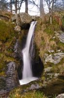 Pistyll Rhaeadr Waterfall - top falls 2 by TazPoltorak