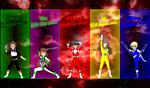 DigiFusion SM Wrath Rangers for Asrockrpg by rangeranime