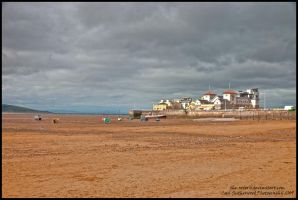 HDR Weston-super-Mare Beach by The-Rover
