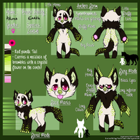 Akuma ref sheet 2013 by Mariie-Luna