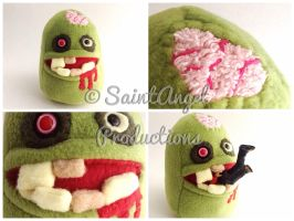 Stuffed Zombie Plushie by Saint-Angel