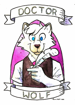 Dr Wolf Art by BrownWolfFM
