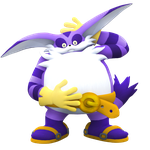 Probably the only Big the Cat Render ever made* by NIBROCrock