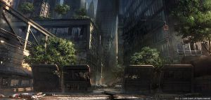 Crysis 2 - Battery Park by maciejkuciara