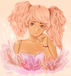 warm pink by HealingPotions