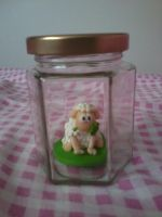 Sheep figurine (in a Jar) by NRfun