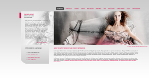 Pers portfolio by: sevenclips by WebMagic