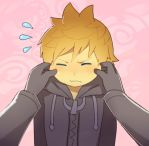 Tfw You Will Never Pinch Roxas' Cheeks by longestdistance