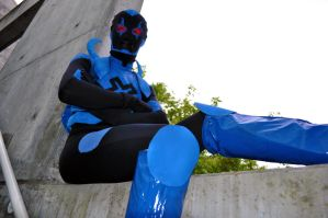 Fanime 2011 - Blue Beetle by Cosphotos