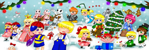 Earthbound Christmas Contest by purplemagechan