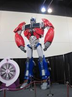 Transformers Prime: Optimus by peanutchan